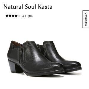 Natural Soul Kasta Booties